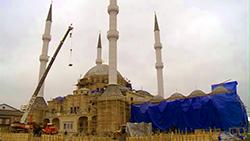 В Гехи строится мечеть на пять тысяч мест