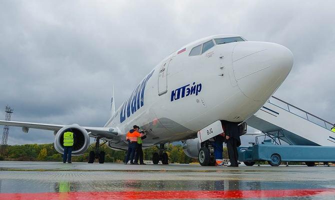 «ЮТэйр» отменяет рейсы в восемь российских городов