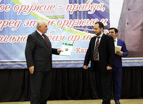 Определились победители журналистского конкурса «Нет терроризму!»