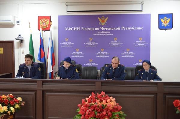 В Грозном прошли учебные сборы сотрудников УФСИН по ЧР