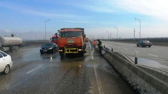 Предприятия Минавтодора  следят за весенним содержанием дорог