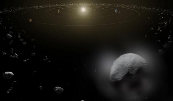 К Земле приближается астероид шириной 1000 метров