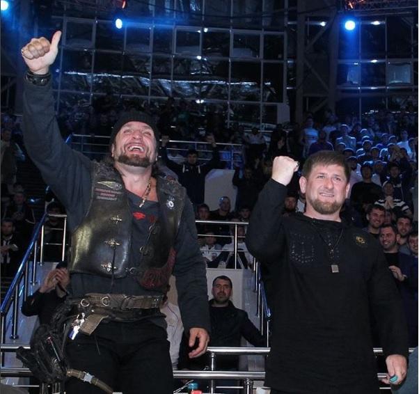 Кадыров в ночном клубе ночной клуб кактус в москве