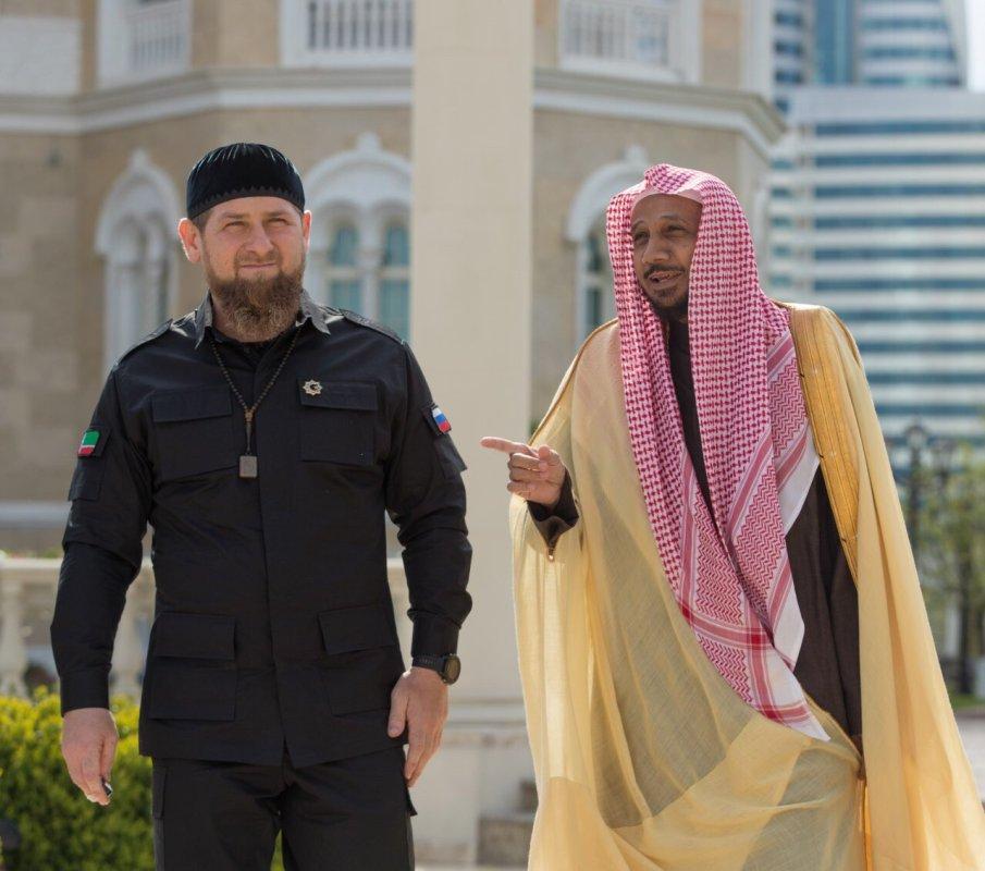 Кадыров встретился богословами из СА