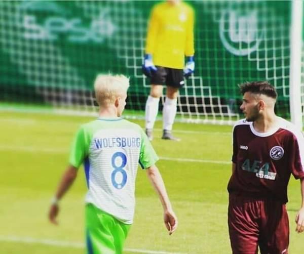 Немецкий футбольный клуб из берлина